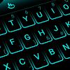 Neon Blue Keyboard Theme APK