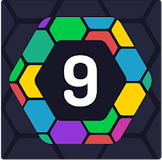 UP 9 - Hexa Puzzle! Merge Numbers to get 9 APK