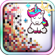 Unicorn of Love: The Number Coloring by Pixel Arts APK