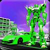Flying Car Transformation Robot Wars Car Superhero APK