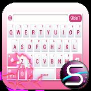 SlideIT Pink Flower Skin APK