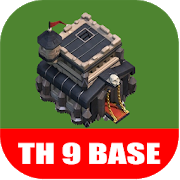 New COC Town Hall 9 Base APK