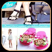 Best DIY Crystal Embellished Sandals APK