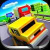Blocky Highway: Traffic Racing APK