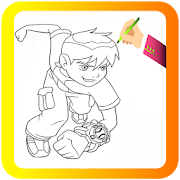 How To Draw Ben 10 Characters APK