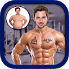 Men Body Styles SixPack tattoo - Photo Editor app APK