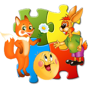 Jigsaw style Puzzle for teaching for children. APK