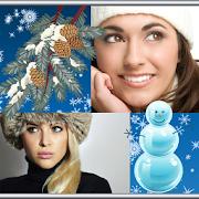 Winter Photo Collage APK