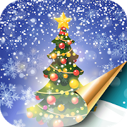 Christmas Tree Live Wallpaper with Snow Falling APK
