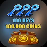 Keys & Coins For Subway Surfer APK