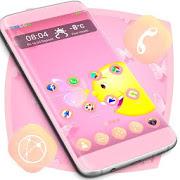 Pink Butterfly Launcher APK