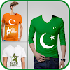 Pak Flag Shirt Photo Editor - 14 August APK