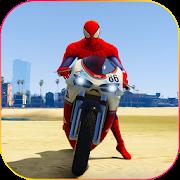 Superhero Tricky bike race (kids games) APK