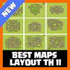 Best Maps Layout COC TH 11 APK