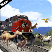 Farm Animal Transport Train: Rail Cargo Simulator APK