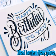 Ideal hendset ideas are quoted APK