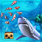 Angry big Shark Virtual Reality ( VR )