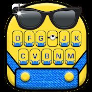 Cartoon Yellow Me Keyboard Theme APK