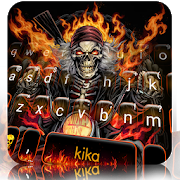Fire Skull Rider Keyboard Theme 1.0 Android Latest Version Download