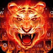 Cruel Tiger 3D Keyboard Theme APK