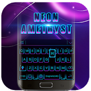 Black Neon 3D Keyboard Theme APK