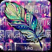 Galaxy Feather Keyboard Theme APK