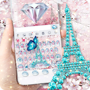 Girly Paris Keyboard - Girly theme APK