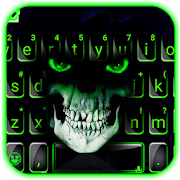 Green Horror Devil Keyboard -flaming skull 1.0 Android Latest Version Download