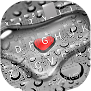 Droplet Love Keyboard Theme APK