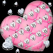 Noble Diamond Heart Keyboard Theme APK
