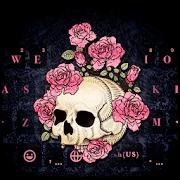 Rose Skull Kika Keyboard APK