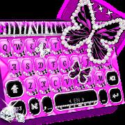 Luxury Butterfly Zebra Keyboard Theme APK