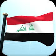 Iraq Flag 3D Free Wallpaper APK