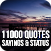 11000 Quotes, Sayings & Status - Images Collection APK