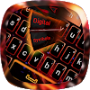 Red Flame Keyboard theme APK