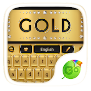 Gold Luxury Go Keyboard Theme APK