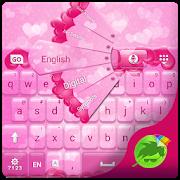 Pink Hearts Keyboard APK