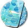 Blue Whales Keyboard Theme APK