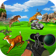 Hunting Jungle Wild Animals FPS Shooting Games APK