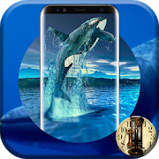 Blue Whale Crazy Analog Digital Android Clock 2017 1 Android Latest Version Download