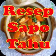 Resep Sapo Tahu Praktis Sederhana APK