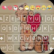 Teddy Bear Keyboard Theme - Teddy Bear Keyboard APK