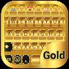 Gold Emoji Keyboard Theme APK