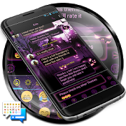 SMS Messenger Halloween Theme APK
