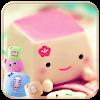 Marshmallow Candy Face Theme APK