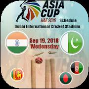 Asia Cup 2018 Schedule APK