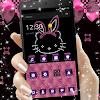 Pink Kitty Diamond Princess Theme APK