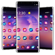Purple Theme for Galaxy Note 8 APK
