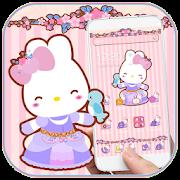 Lovely Rabbit Theme APK