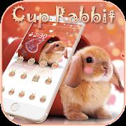 Cup Rabbit Theme APK